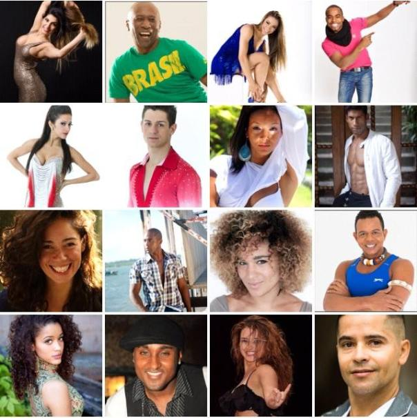 BRAZOUKA Cast List 2014